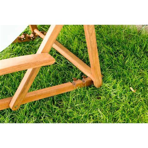 sdraio in legno da giardino sdraio da giardino pieghevole in legno tessuto arancione