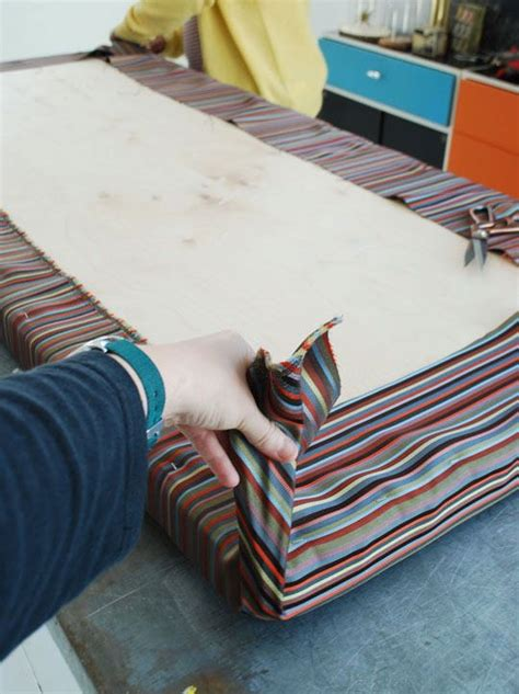 how to sew a bench cushion how to make an easy no sew cushion fabrics easy and