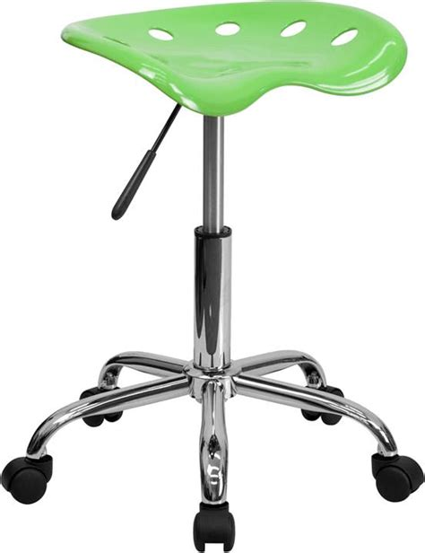 tractor seat office chair best tractor seat chrome metal task stool mobile office