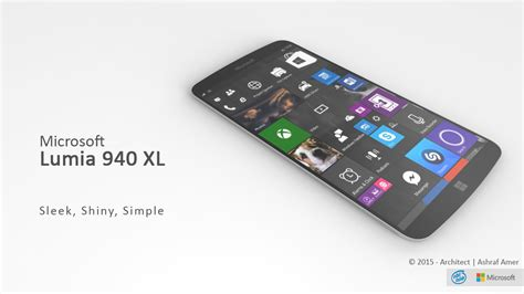 Microsoft Lumia Xl microsoft lumia 940 xl gets a fresh vision and design