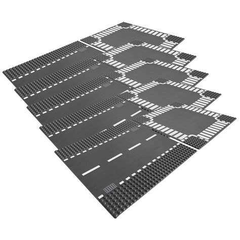 Lego 7280 Brick And More Crossroad Plates five pack lego 7280 crossroad plates at hobby