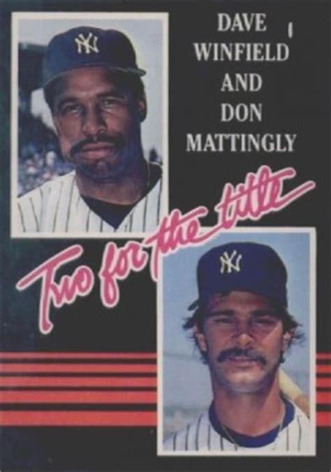 Don Mattingly Card Value by 1985 Donruss Don Mattingly 651 Wht Baseball Card Value