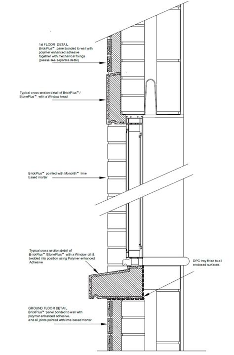 wall section with window precious window section detail myhomeimprovement