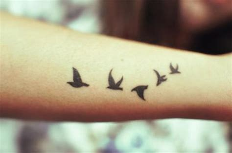 small birds tattoo design small black birds design on arm tattooshunt