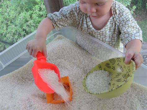 rice table for 20 educational and sensory table activities for