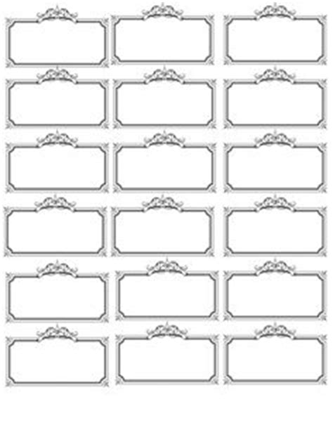 I Use The Free Blank Label Templates From This Site By Printing Them On Cardstock And Cutting Ce Label Template