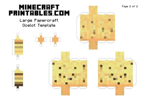 Minecraft Papercraft Animals - 17 best images about minecraft printable papercrafts on