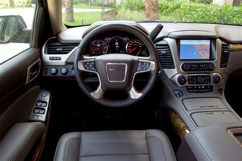 2015 Gmc Interior by 2015 Gmc Yukon Drive Automiddleeast