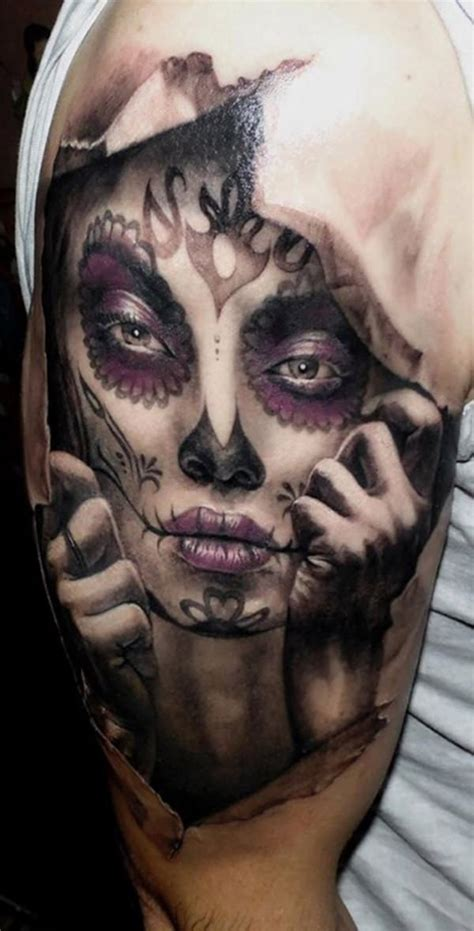 60 Day Of The Dead Tattoos You Will Want To Get Asap Day Of The Dead Tattoos