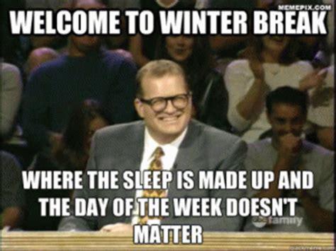 Winter Break Meme - drew carey meme kappit