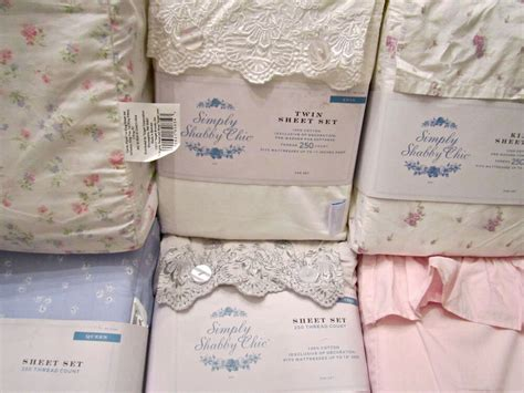 simply shabby chic sheet setwhite pink embroidered indigo blue floral mon amie ebay