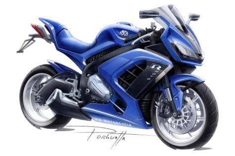 Ps Motorrad K Ndigen by Ein Motorrad Von Volkswagen Autobild De