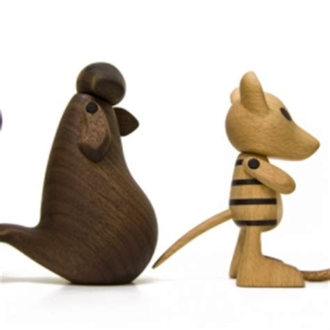 Handcrafted Wooden Animals - notcot org