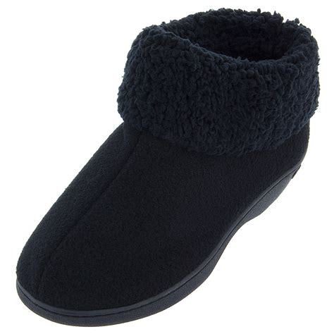 bootie slippers isotoner black bootie slippers for