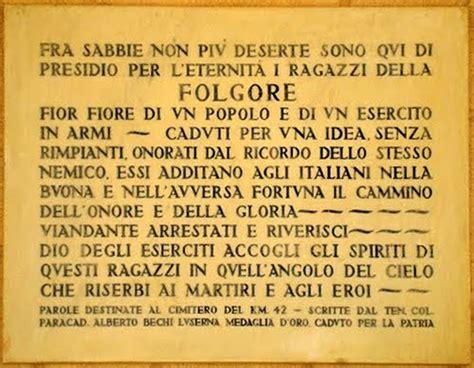 e sim fieri di essere italiani