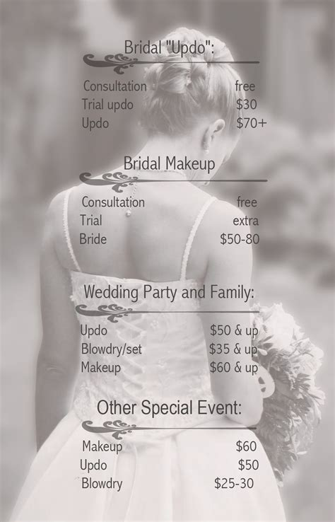 Wedding Hair And Makeup Average Cost by How Much Does Makeup Cost For A Wedding Saubhaya Makeup