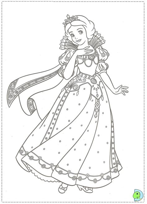 princess christmas coloring page coloring pages