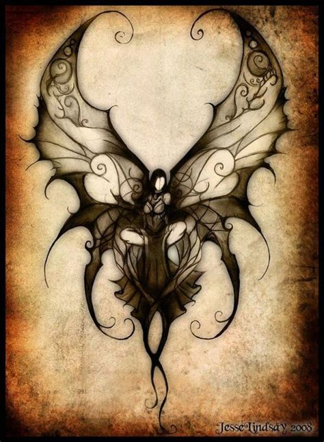 gothic fairy tattoo pictures to pin on pinterest tattooskid sickness tattoo pinterest awesome wings and