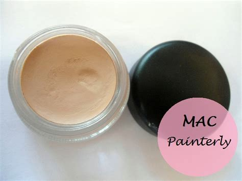 paint in mac mac painterly paint pot review swatches and dupe