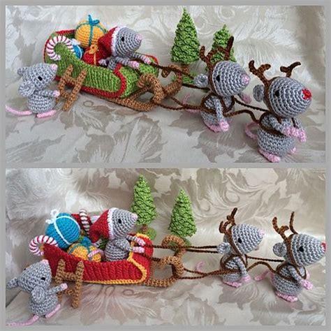 pattern christmas mouse ravelry mice and crochet patterns on pinterest