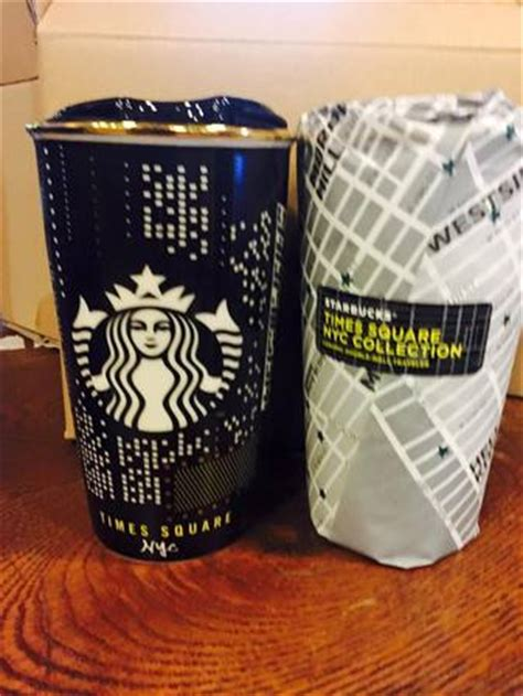 I M Traveller Tumbler starbucks city mug new york times square dw traveler mug