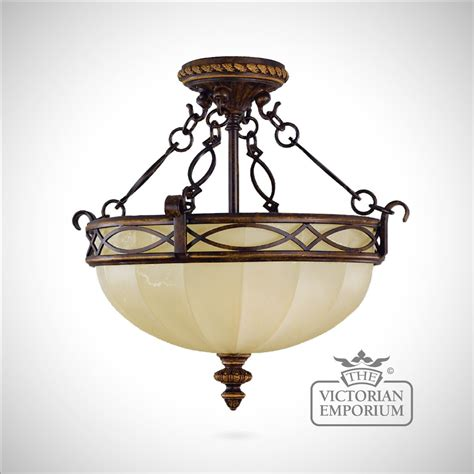 light fittings in edwardian style period semi flush mounted light interior ceiling and