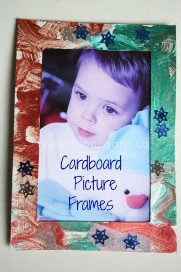 homemade picture frames kids can make homemade happy