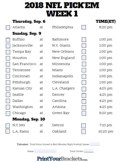 how to pick sheets nfl week 4 2017 pick em sheet printable team autos post