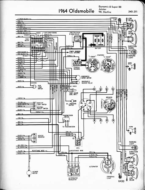 oldsmobile wiring diagrams the car manual project