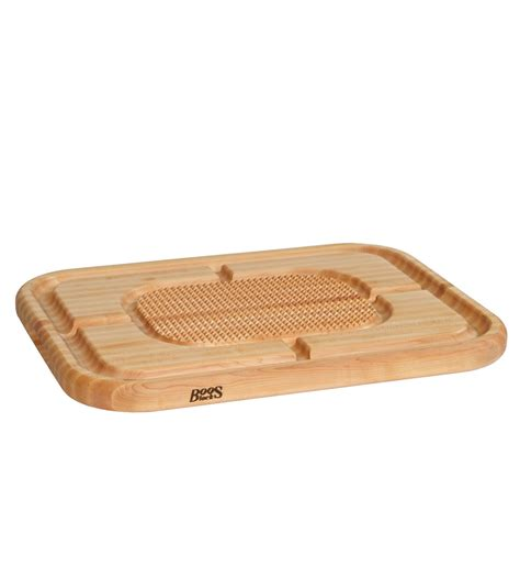 John Boos Maple Pyramid Design Board with Groove