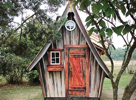 holzhaus farbe test cabane de jardin originale