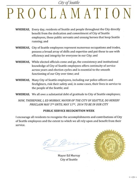 proclamation template proclamations archives mayor murray