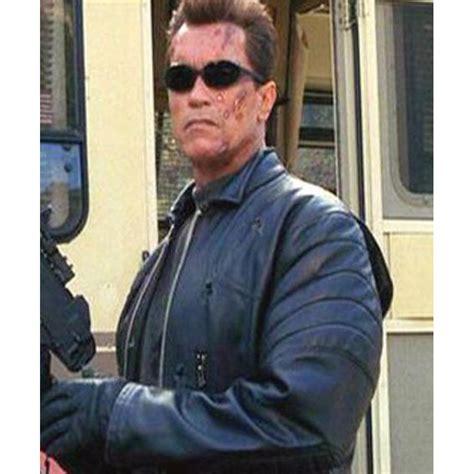 arnold schwarzenegger for terminator 3 at 55 arnold schwarzenegger leather terminator 3 jacket l mens