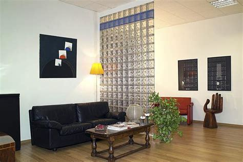 Glass Block Room Divider Glass Blocks Adding Sparkling Accents To Modern Home Designs