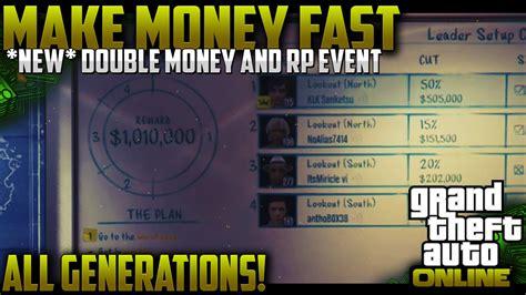 Fast Way To Make Money In Gta 5 Online - gta 5 online quot make money fast quot all gen best way to make