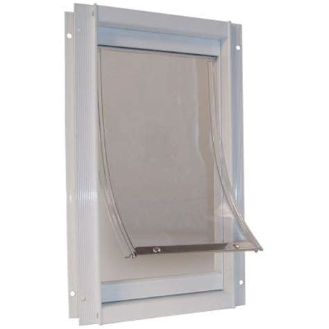 Pet Doors Home Depot by Ideal Pet 15 In X 10 5 In Large Deluxe Aluminum