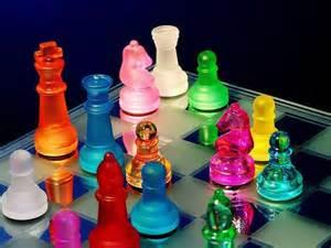 Beautiful Chess Set Beautiful Chess Set Rainbow Colours Pinterest