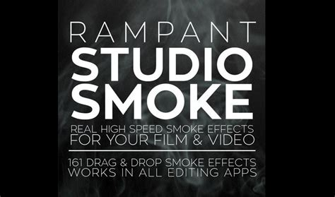 Rampant Design Tools Studio Smoke Free After Effects Template Videohive Projects Hitfilm Lower Thirds Templates