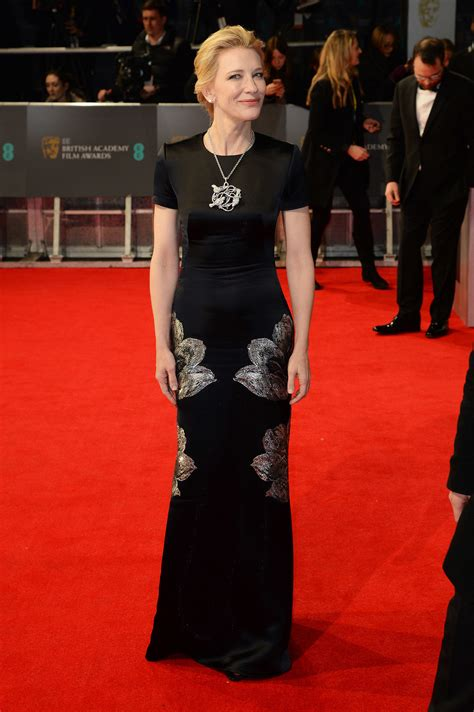 Catwalk To Carpet Cate Blanchett by Cate Blanchett On The 2014 Bafta Carpet S
