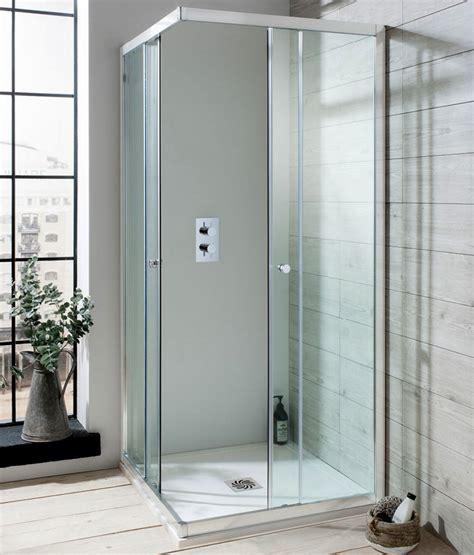 Corner Entry Shower Doors Simpsons Edge Corner Entry Shower Enclosure Uk Bathrooms