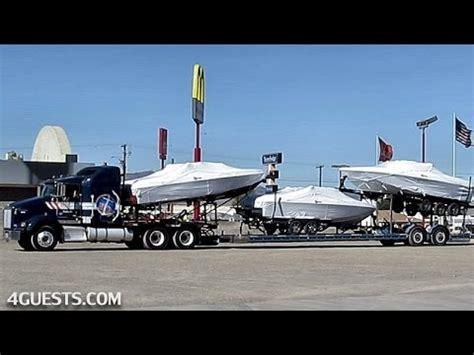 malibu boats trailers hq marine trucking w malibu boats on trailer youtube