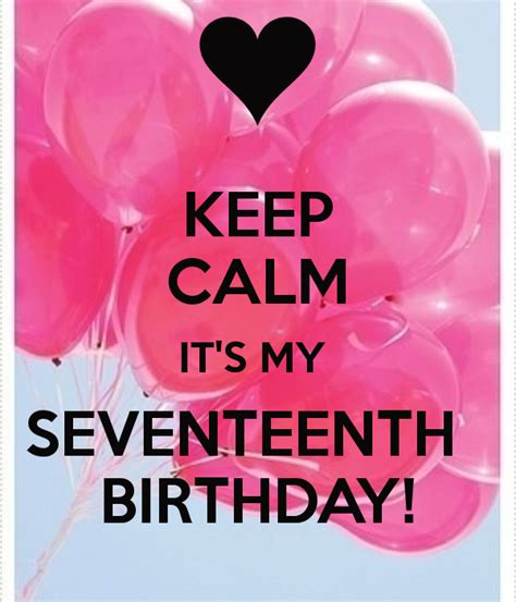 Quotes For 17th Birthday Seventeenth Birthday Quotes Quotesgram