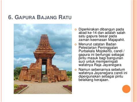 Gapura 15meter peninggalan kerajaan majapahit