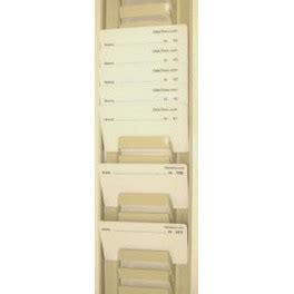 casellario porta badge casellario portabadge 30 posti in metallo