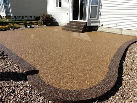 concrete patio coatings 1000 images about pebbles with epoxy on epoxy