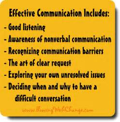 effective communication skills flowing with