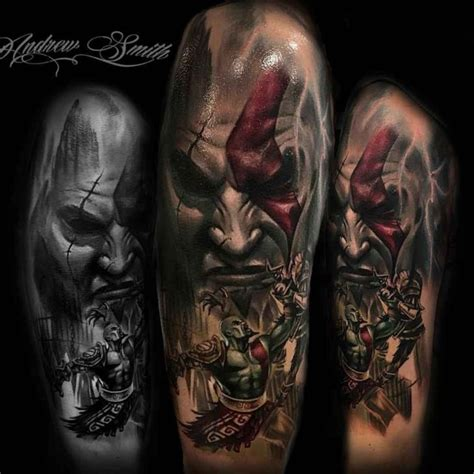 god of war tattoo god of war on shoulder best ideas gallery