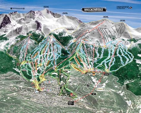 breckenridge ski map breckenridge ski resort ski trail map breckenridge colorado united states mappery