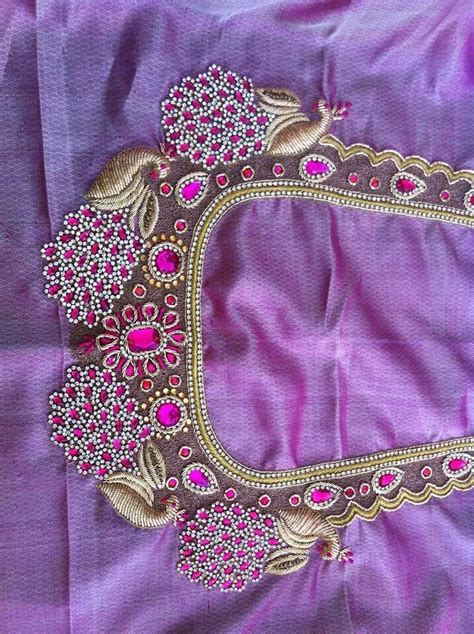 embroidery design for blouse 29 best images about aari on pinterest blouse designs