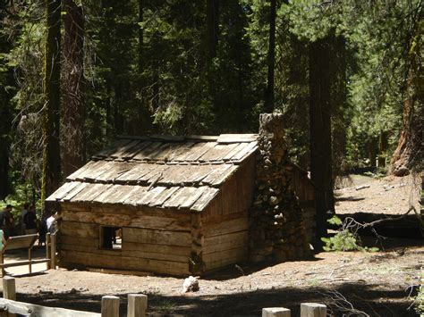 Cabins In Sequoia National Forest by Sequoia And National Park Road Trip